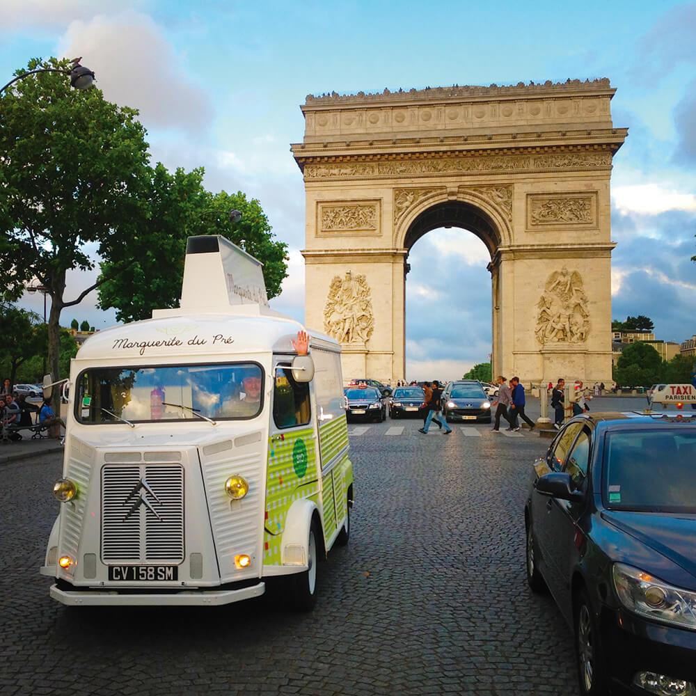 food truck glace yaourt