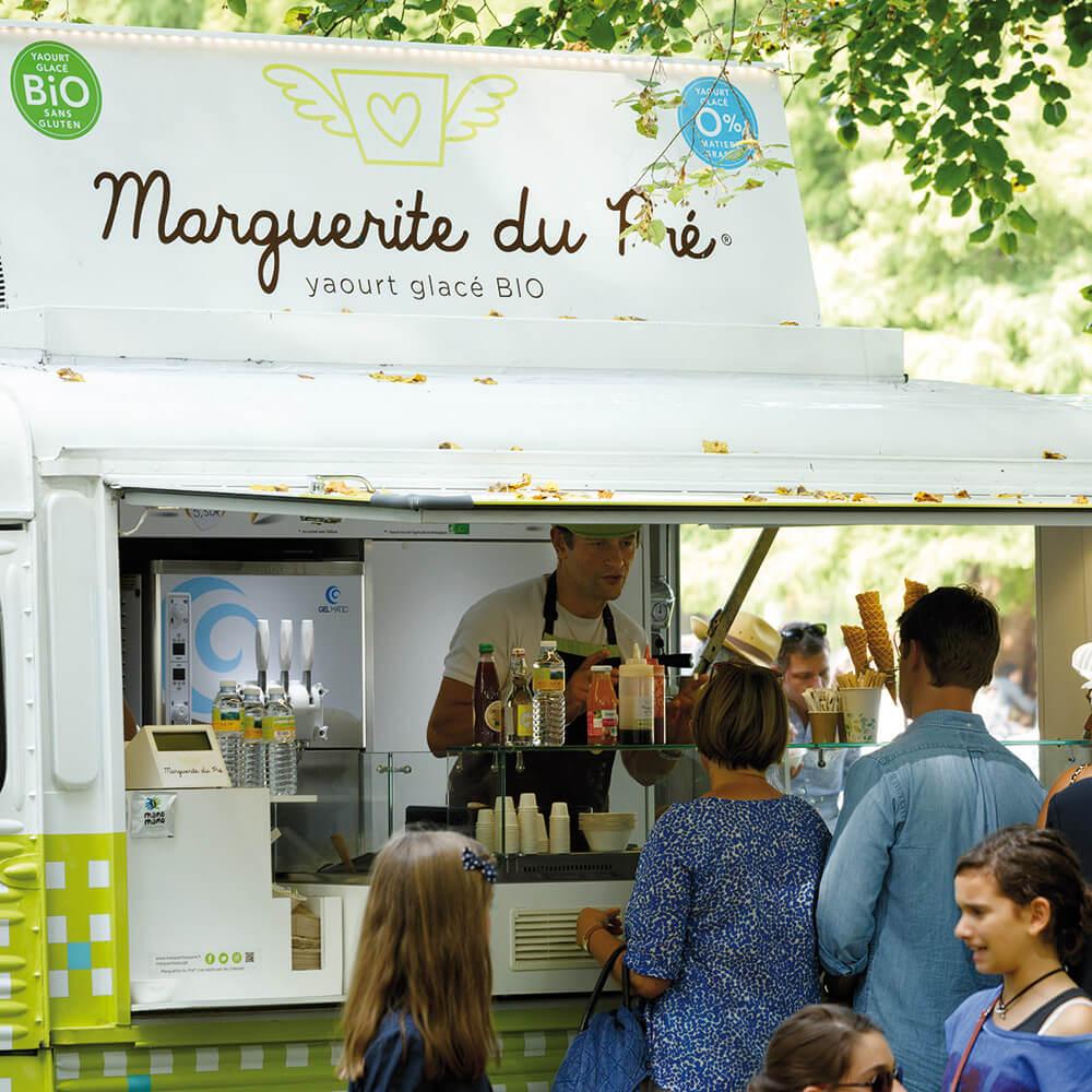 yaourt glace bio food truck