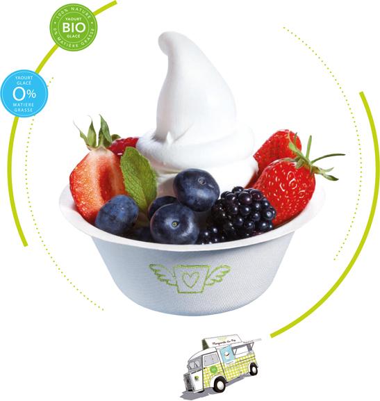 yaourt glacé BIO et 100% naturel
