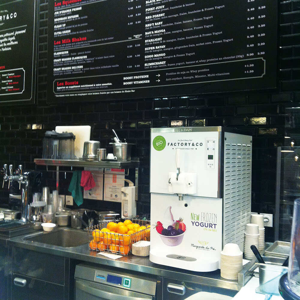 corner bio yaourt glace